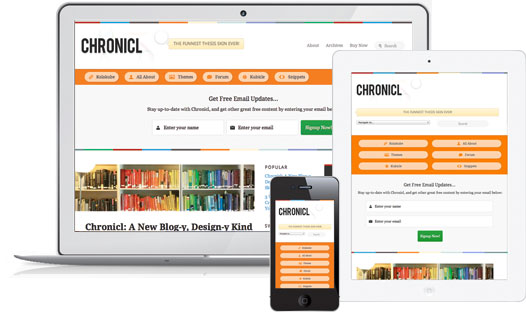 Kolakube Chronicle Theme full Review plus responsive design