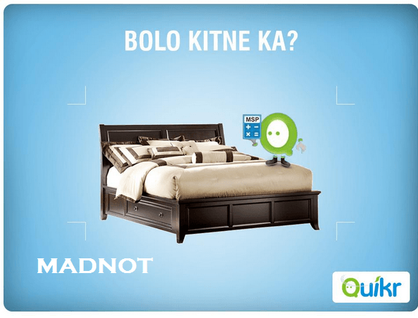 Quikr Paytm Offer