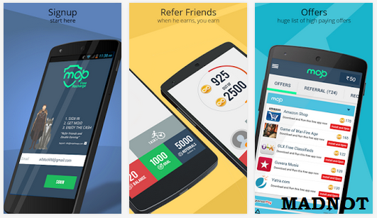 Mojo is a Free Recharge app.