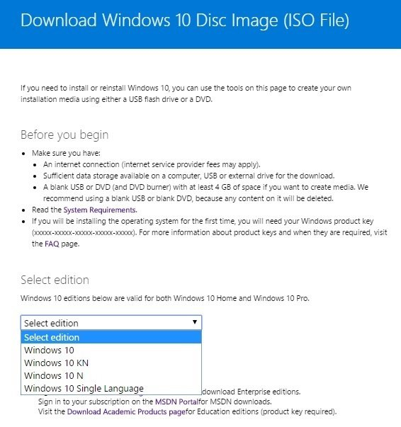 Direct download link of Windows 10 ISO file in IDM – Madnot