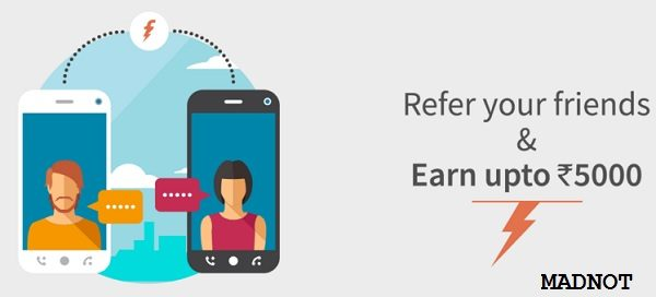 Earn Rs 5000 using Freecharge Refer & Earn – Madnot