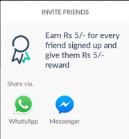 Earn Rs.5 when your friend signup on yellow messenger