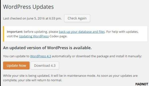 Thank you for updating! WordPress 4.3 makes it even easier to format your content and customize your site.
