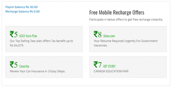 Refer and earn money with paytm